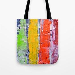 Same, LGBT rainbow abstract, NYC artist Tote Bag