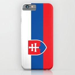 Slovakian Flag of Slovakia  iPhone Case