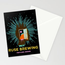 RUSE BREWING - THOUGHT FREQUENCY Stationery Cards