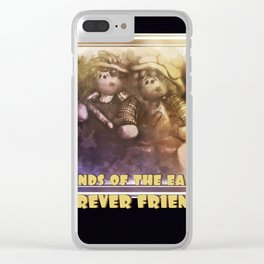 BFF Forever Friends Clear iPhone Case