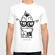 You're So Hipster You're Not Hipster White MEDIUM Mens Fitted Tee