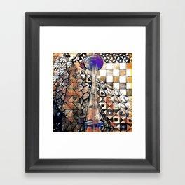 seattle scapes Framed Art Print