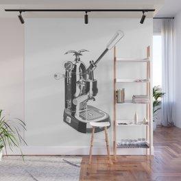 Romantica La Pavoni Professional Lever Espresso Machine Wall Mural