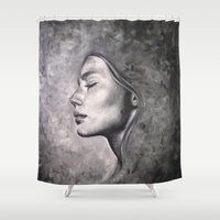 destiny Shower Curtains featuring Destiny by Pamela Schaefer
