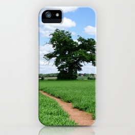 Herefordshire Countryside iPhone Case