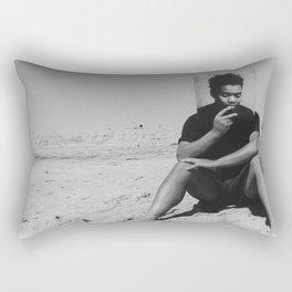 Beach Day with Chapman Rectangular Pillow