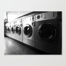 Whirly Wash 4 Canvas Print