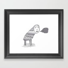 (A Wuggie) Framed Art Print