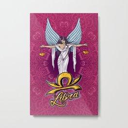 Zodiac Series - Libra Metal Print