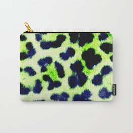 Glamorous Leopard Skin Carry-All Pouch