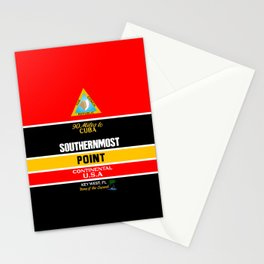 Southern Most Point, Key West, Florida/サザン・モスト・ポイント Stationery Cards