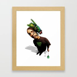 What's Bugging You? Framed Art Print
