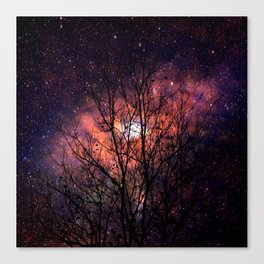the shaft of the constellation Canvas Print