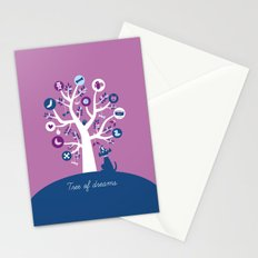 Tree of dreams Stationery Cards