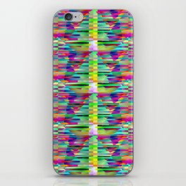 Geometrical-colorplay-pattern #3 iPhone Skin