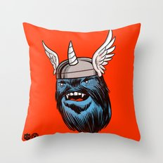 Yeticorn Comic Heroes series: Thor! Throw Pillow