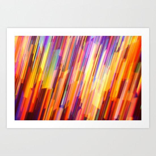 Glitter 9956 Art Print