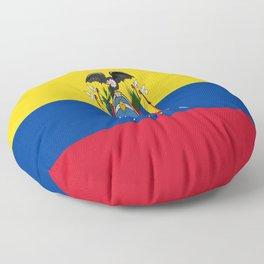 Flag of Ecuador -ecuadorian,Inca,Kichwa,Quito,america, South america,Spanish,Amazonia,latin america Floor Pillow