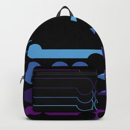 Two sides of the moon Backpack