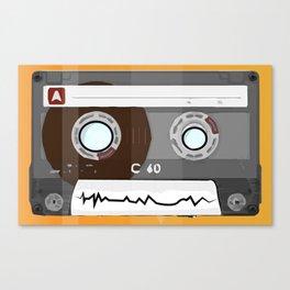 The cassette tape Robot Canvas Print