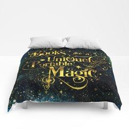 Books Are a Uniquely Portable Magic Comforters
