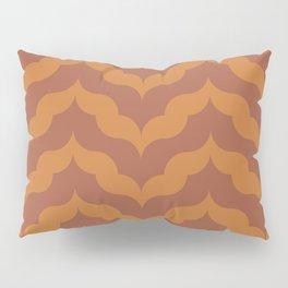 Juliet in Burnt Orange Pillow Sham