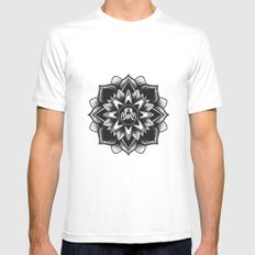 SUS Clothing  White Mens Fitted Tee MEDIUM