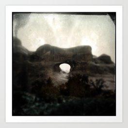 Tunnel Arch Art Print