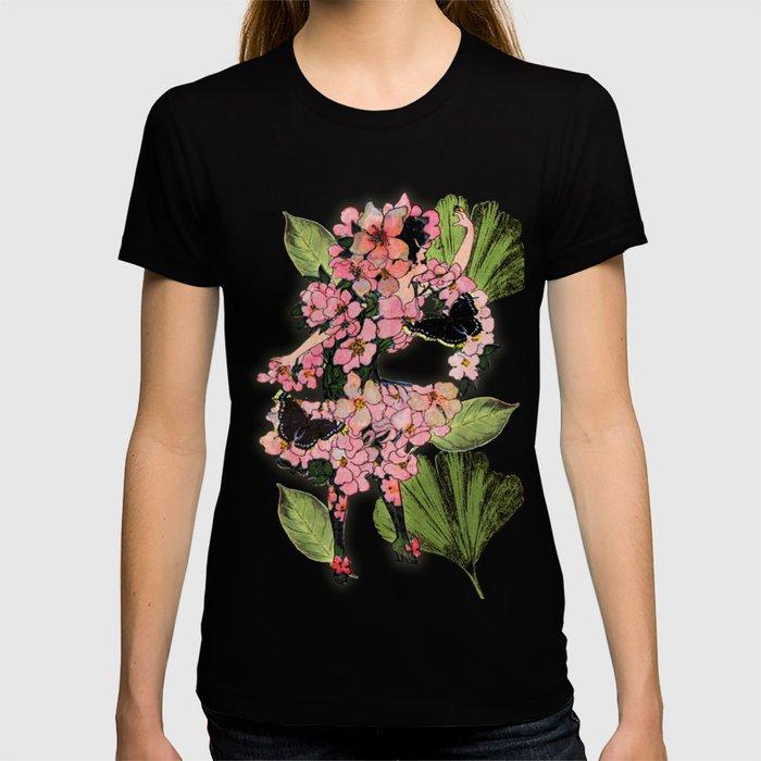 Vintage Flower Fairy T-shirt
