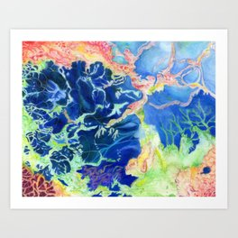 Sea Pulsar 1 Art Print