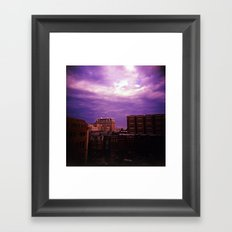 Beauty in Baltimore Framed Art Print