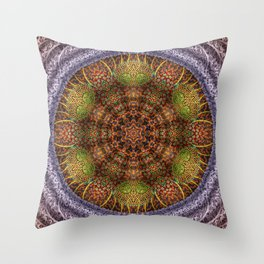 The Curiosity Of Dotted Eyes Throw Pillow