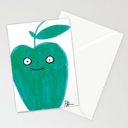 Green Apple Stationery Cards