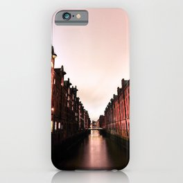 LOW ANGLE PHOTOGRAPHY OF HOUSES iPhone Case