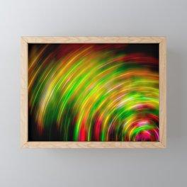 Japanese Bamboo Electric Fiber Abstract Framed Mini Art Print