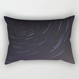 Moving night stars Rectangular Pillow