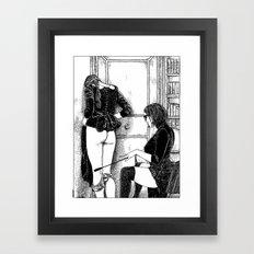 asc 379 - L'apprentissage (Wrapped Around Your Finger) Framed Art Print