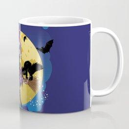 Flying witch illustration Coffee Mug