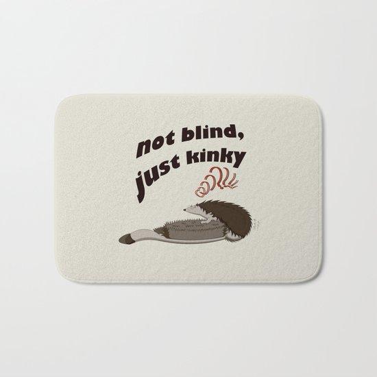 Not blind, just kinky! Bath Mat