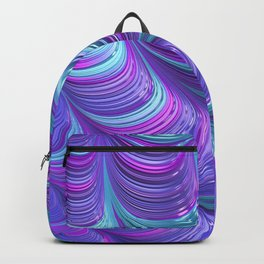 Jewel Tone Abstract Backpack