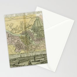 Berlin, Germany 1738 Stationery Cards
