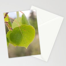 Aspen Green Stationery Cards