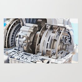 Gears automatic transmission Rug