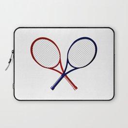 Crossed Rackets Laptop Sleeve
