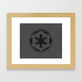 SW Republic Black Flag Framed Art Print