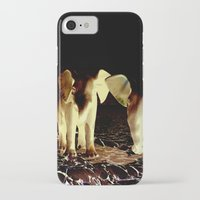 baby elephant iPhone & iPod Cases featuring Baby elephant by nicky2342