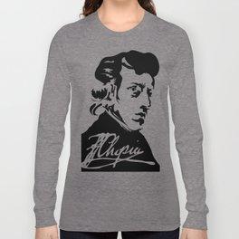 Frédéric Chopin (1810 – 1849) (II) Long Sleeve T-shirt