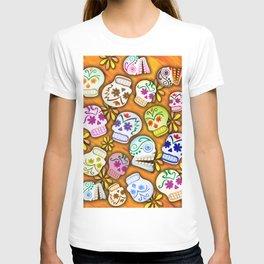 Mob of Skulls Version 2.0 T-shirt