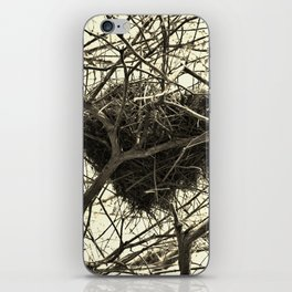 Heart-Shaped Nest iPhone Skin