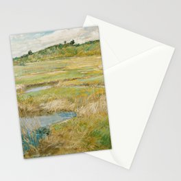 Childe Hassam - The Concord Meadow, 1891 Stationery Cards